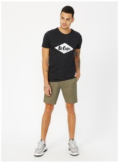 Lee Cooper Lee Cooper Summerlogo Siyah T-Shirt Siyah